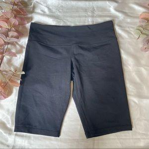 Lululemon Luon Black Bike Shorts Reversible